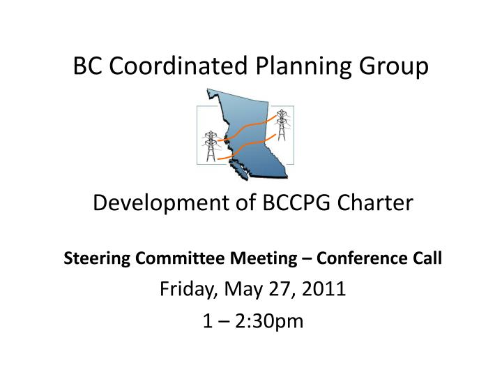 bc coordinated planning group n.