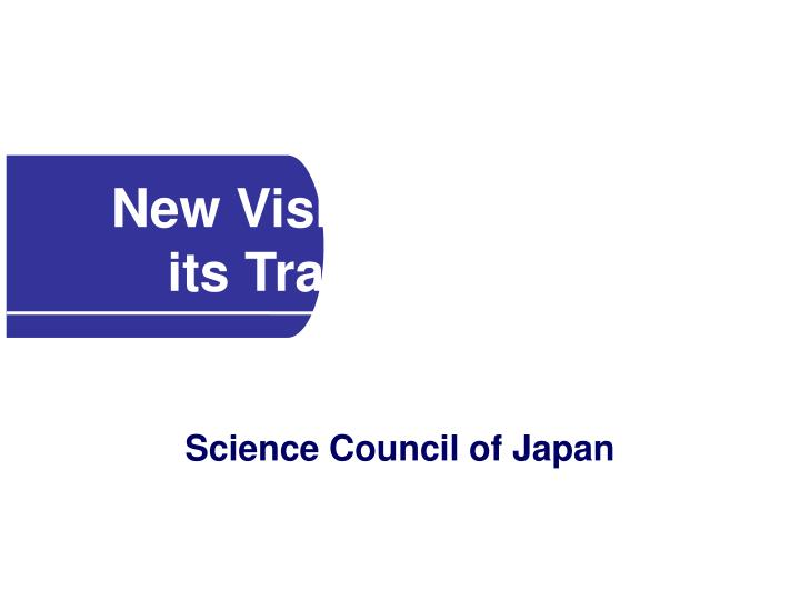new vision of scj and its transformation n.
