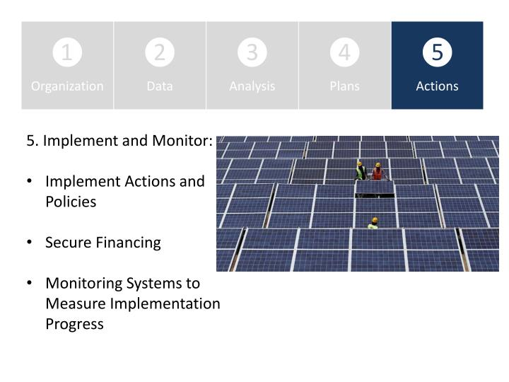 5. Implement and Monitor: