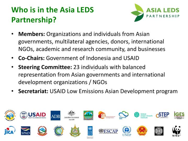 Who is in the Asia LEDS