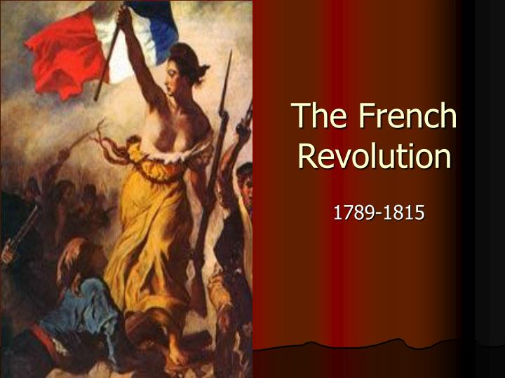 the french revolution n.