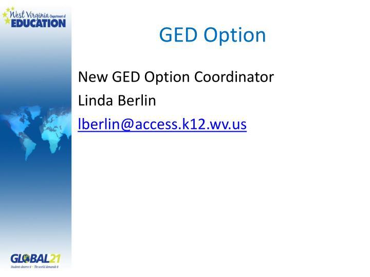 GED Option