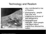 technology and realism