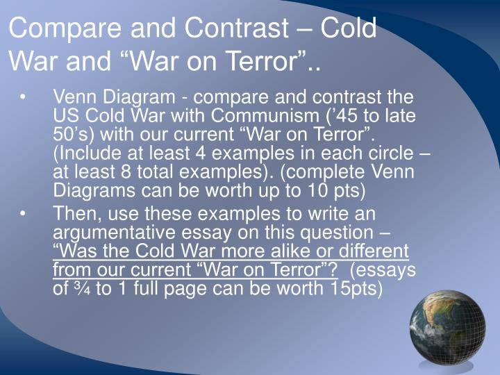 essays about war on terror Essay on terrorism: free examples of essays, research and term papers examples of terrorism essay topics, questions and thesis satatements.