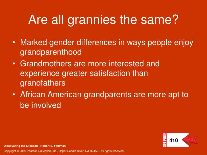 Are all grannies the same?