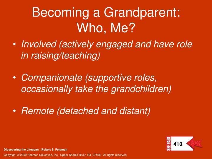 Becoming a Grandparent: