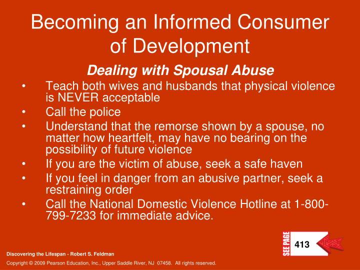 Becoming an Informed Consumer of Development