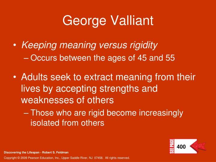 George Valliant