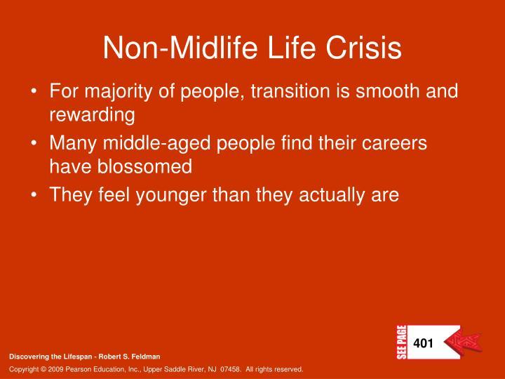 Non-Midlife Life Crisis
