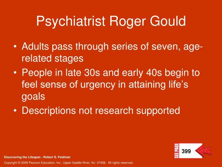 Psychiatrist Roger Gould