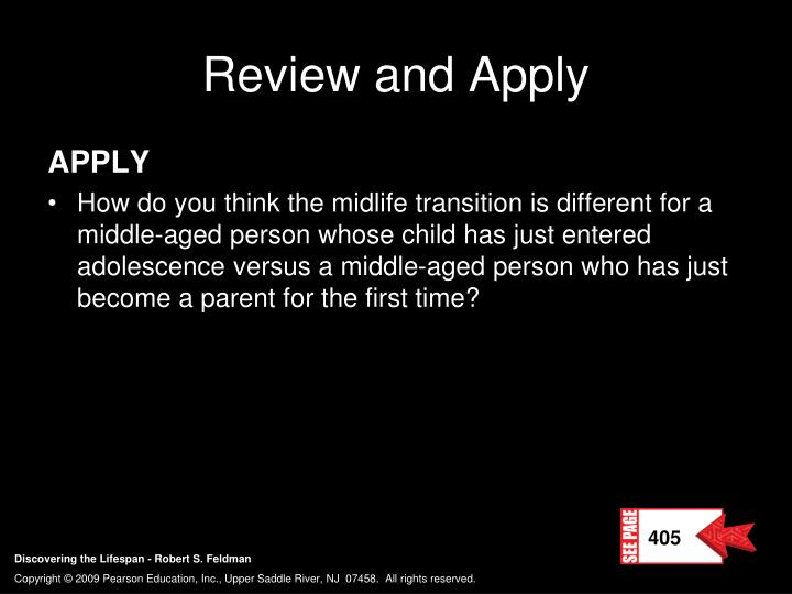 Review and Apply