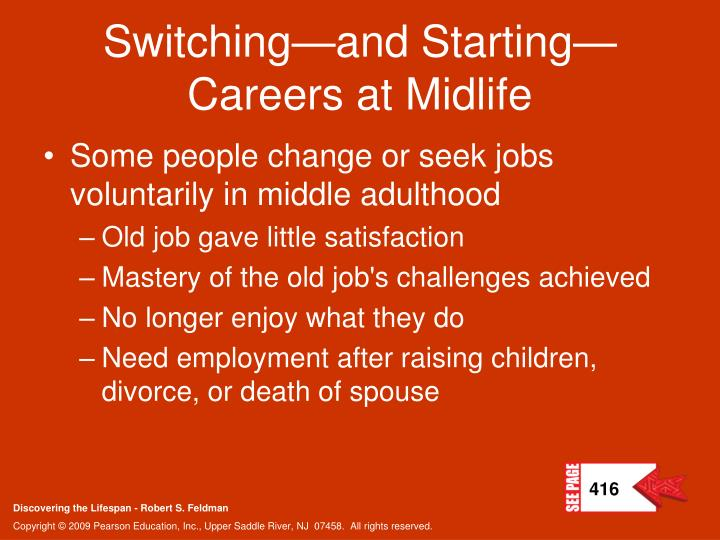 Switching—and Starting—Careers at Midlife