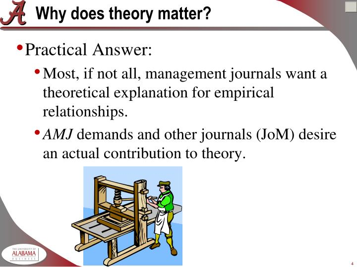 Why does theory matter?