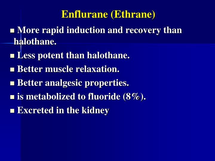 Enflurane (