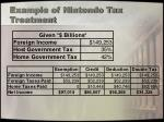 example of nintendo tax treatment