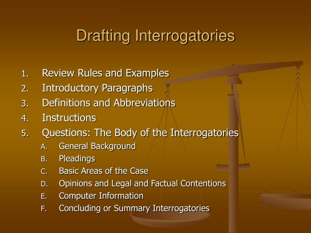 PPT - Litigation and Procedure Discovery: Overview and