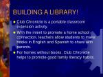 building a library
