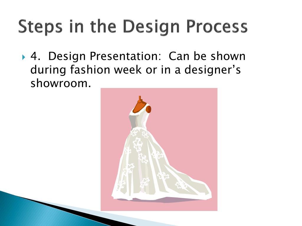 Ppt Fashion B Standard 08 0101 12 Design Process Powerpoint Presentation Id 1749834