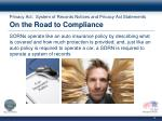 privacy act system of records notices and privacy act statements on the road to compliance
