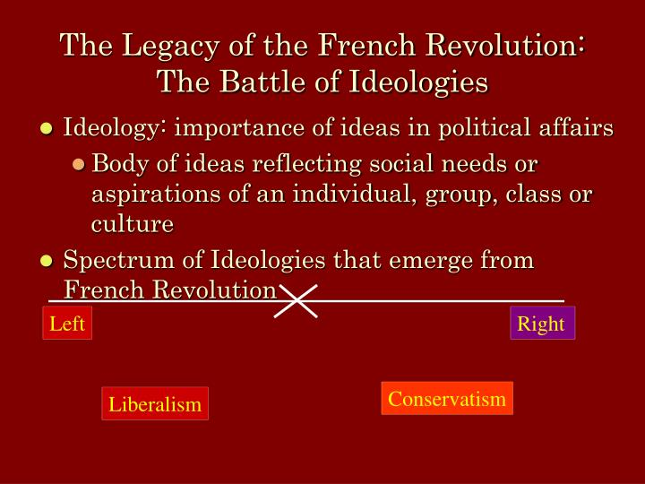 the age of ideologies: france before the revolution essay The french revolution began in earnest on july 14, 1789 great crowds raided the notorious bastille prison they freed all the prisoners, and within two years, france hobsbawm concludes the age of revolution by saying that the twin revolution was an era of superlatives: populations have never.