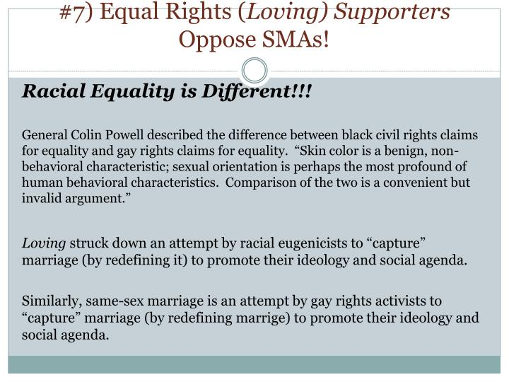 #7) Equal Rights (