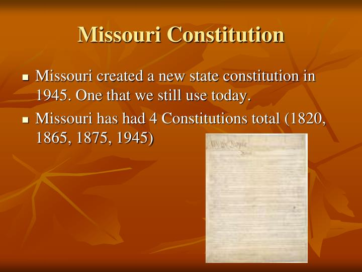 """missouri constitution State constitution """"a general diffusion of knowledge and intelligence  being essential to the preservation of the rights and liberties of the people, the."""