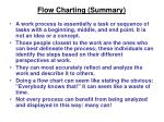 flow charting summary