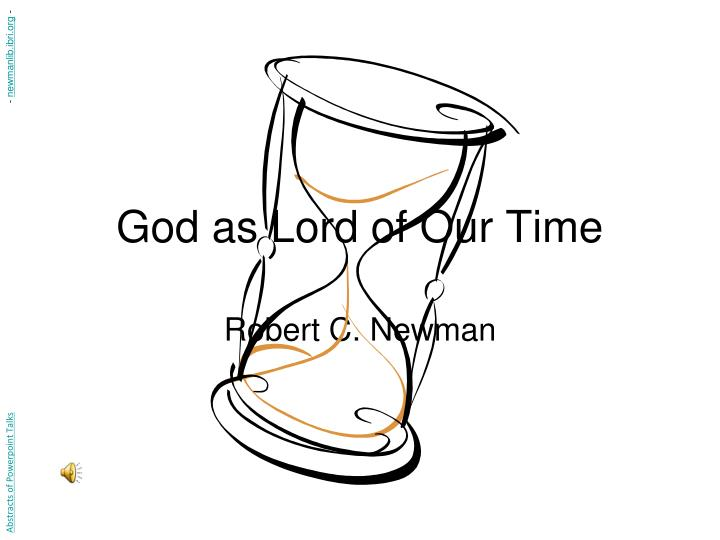 god as lord of our time n.