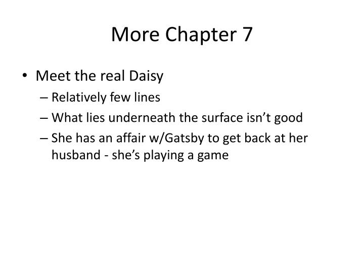 More Chapter 7