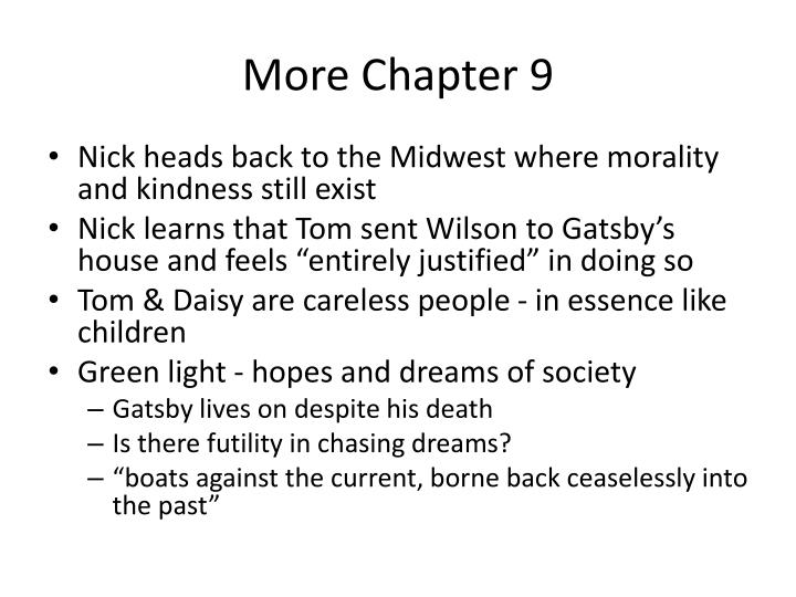 More Chapter 9