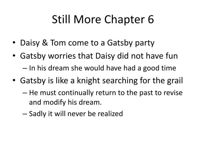 Still More Chapter 6
