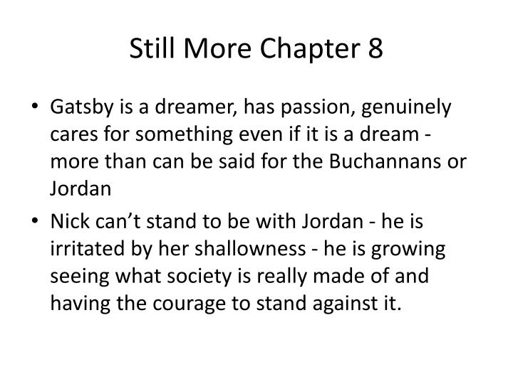 Still More Chapter 8