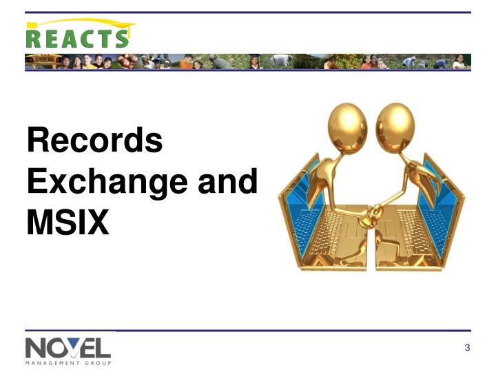 Records Exchange and  MSIX