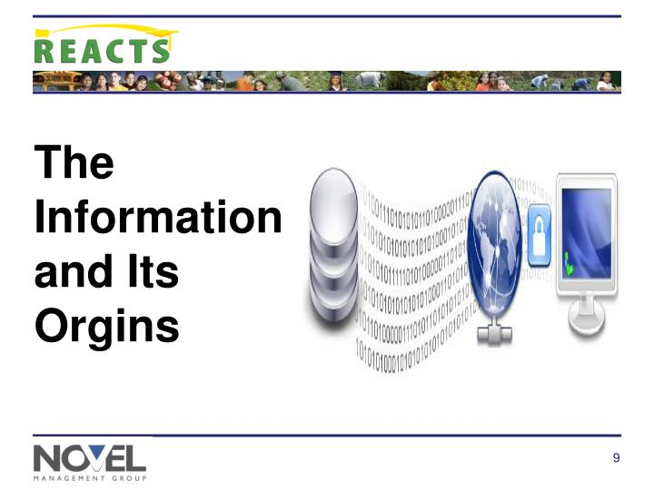 The Information and Its Orgins