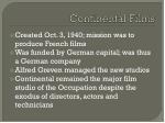 continental films