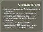 continental films1