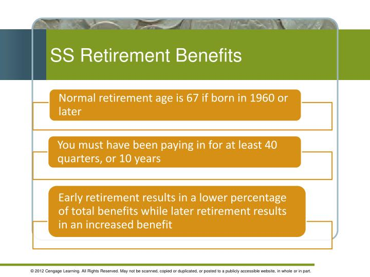 SS Retirement Benefits
