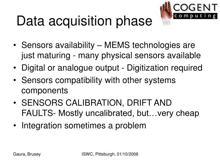 Data acquisition phase
