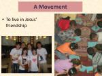 a movement