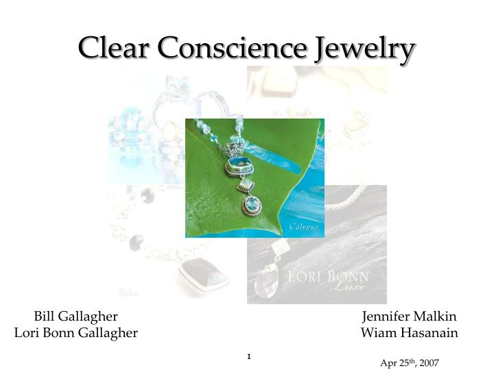 clear conscience jewelry n.