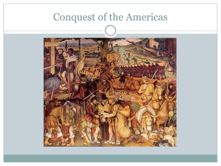 conquest of the americas n.