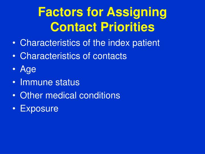 Factors for Assigning