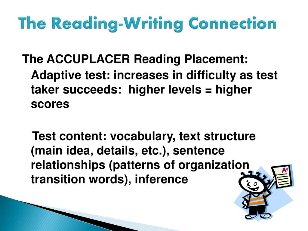 PPT - The Reading-Writing Connection: Preparing GED Grads for