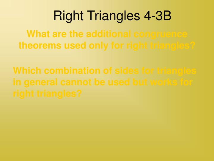right triangles 4 3b n.
