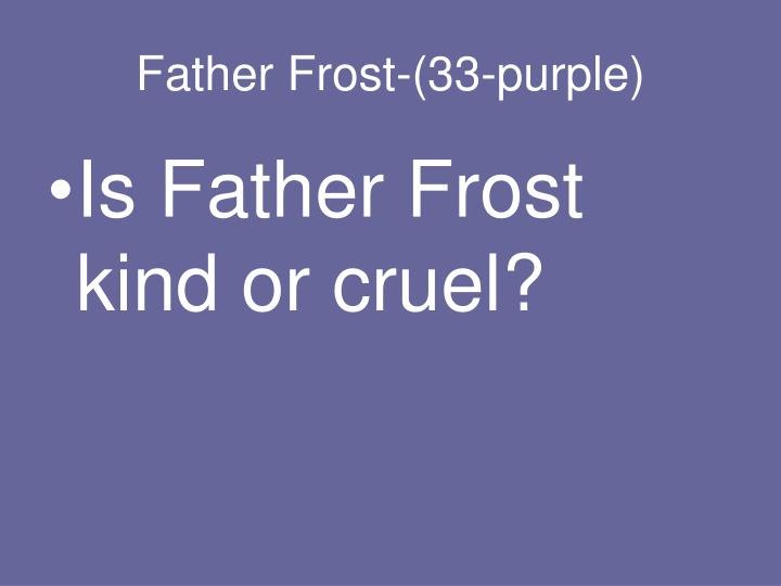 Father Frost-(33-purple)