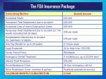 the foa insurance package