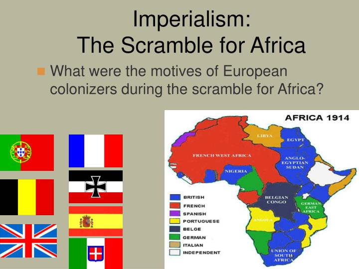 Ppt imperialism the scramble for africa powerpoint presentation imperialism the scramble for africa toneelgroepblik Choice Image