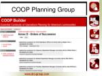coop planning group4