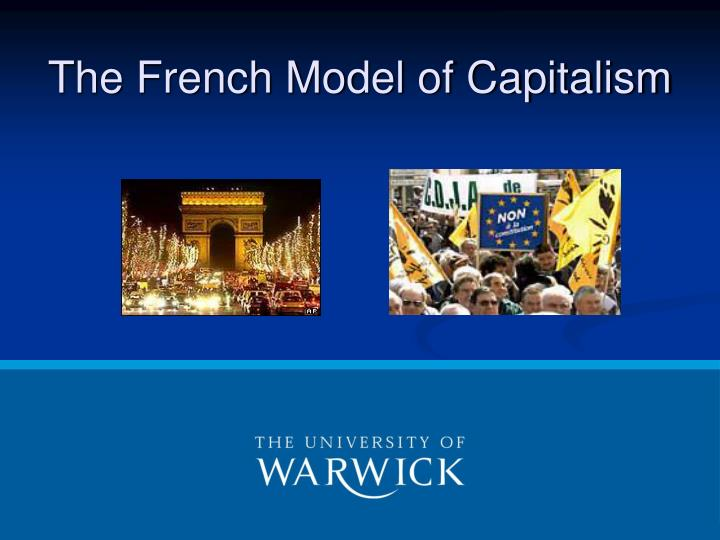 the french model of capitalism n.