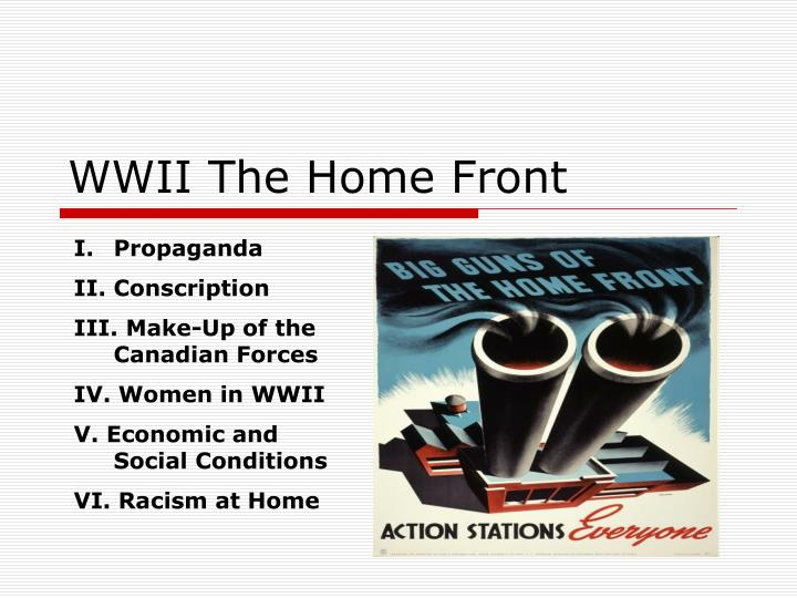 wwii the home front n.